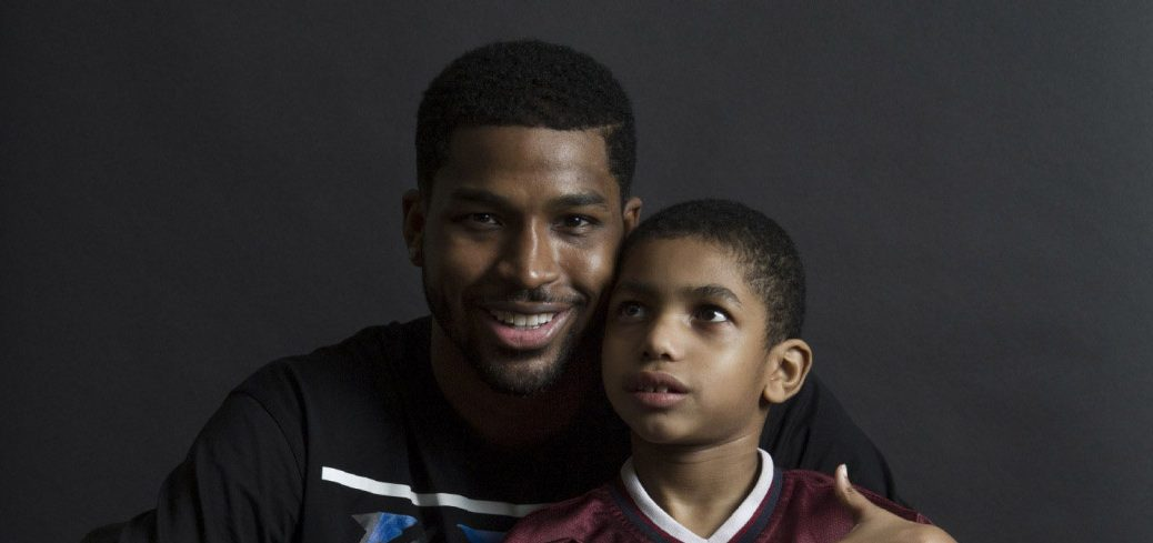 Photo of Amari Thompson and Tristan Thompson
