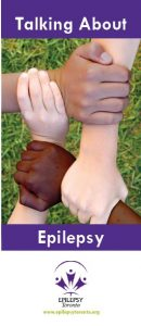 Cover of Talking About Epilepsy Flyer