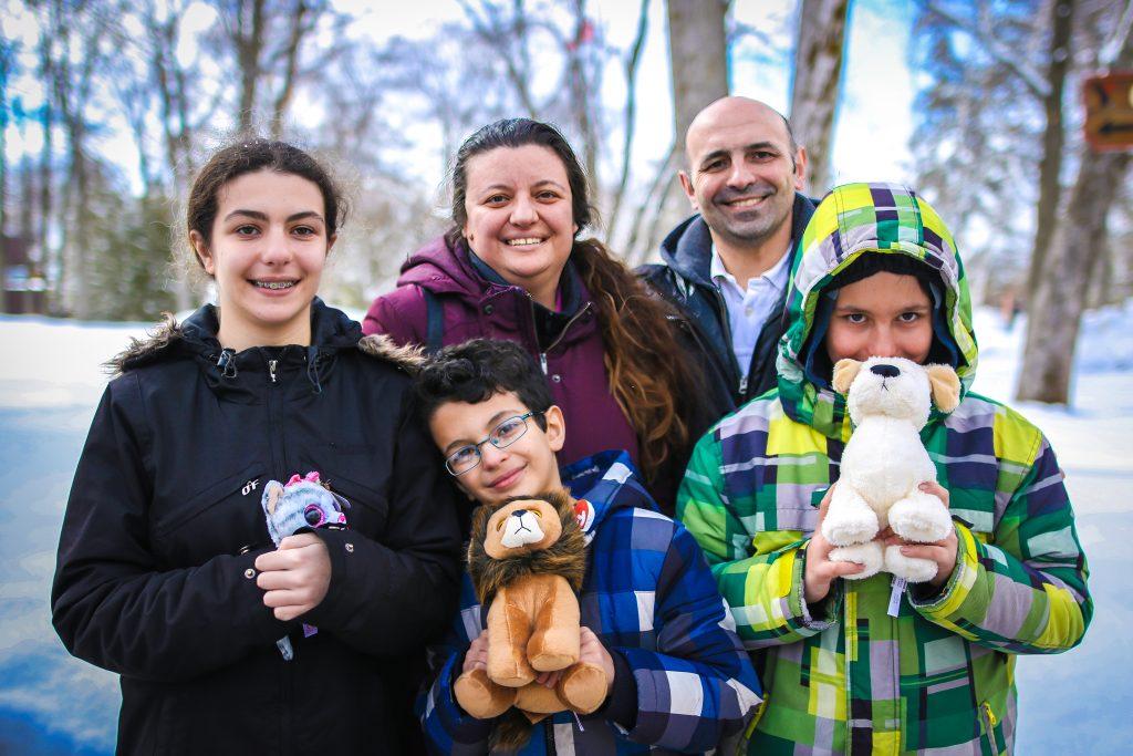 Sabrina De Sousa and family