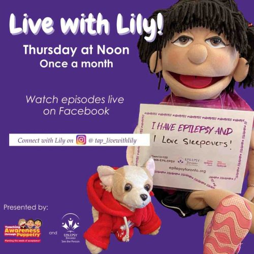 Puppet Lily and her little dog Lulu