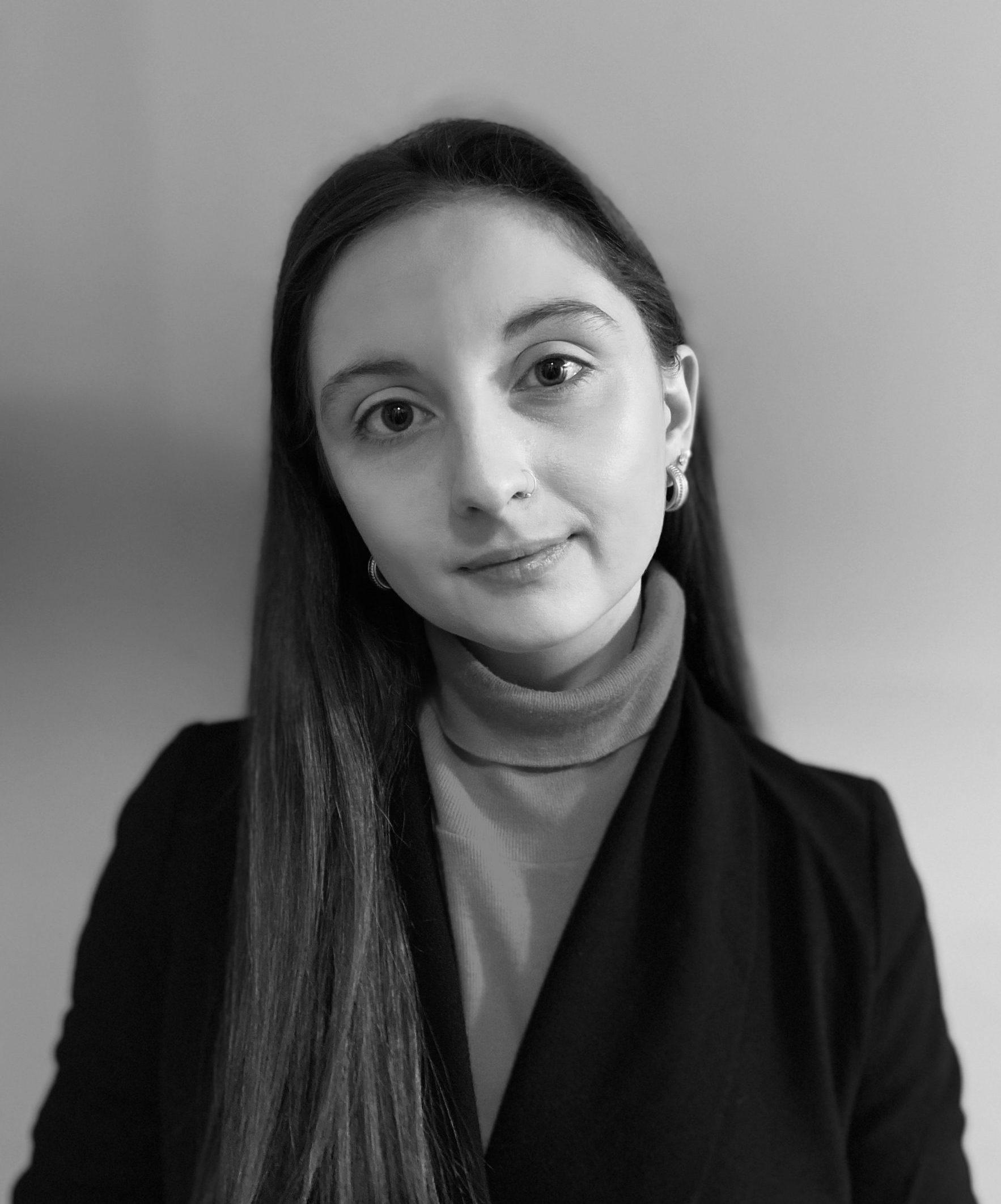 headshot of presenter Melina Zaccaria