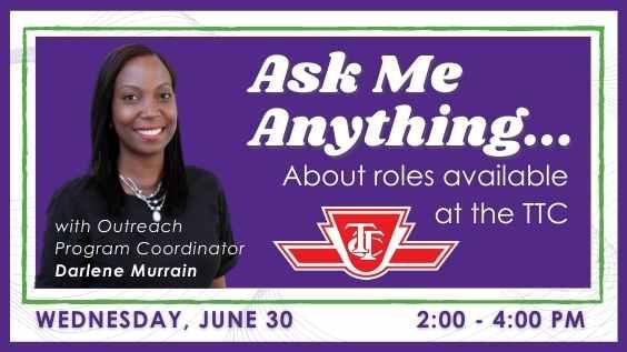 TTC Outreach Program Coordinator Darlene Murrain