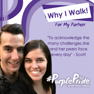 A special message about why I walk in the Virtual Purple Walk